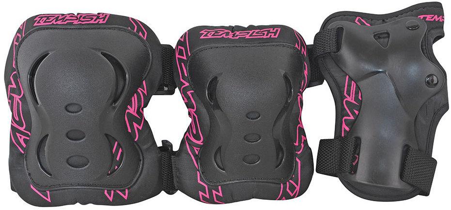 Комплект 3-х элементов защиты TEMPISH 2018 FID 3-set pink, Защита при езде на роликовых коньках - арт. 1044420432