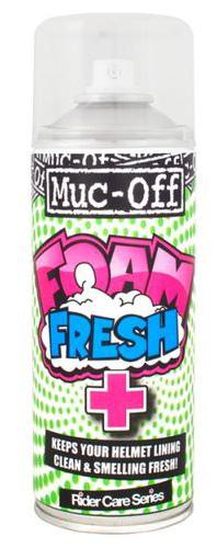 Очиститель шлема MUC-OFF Foam Fresh 400ml