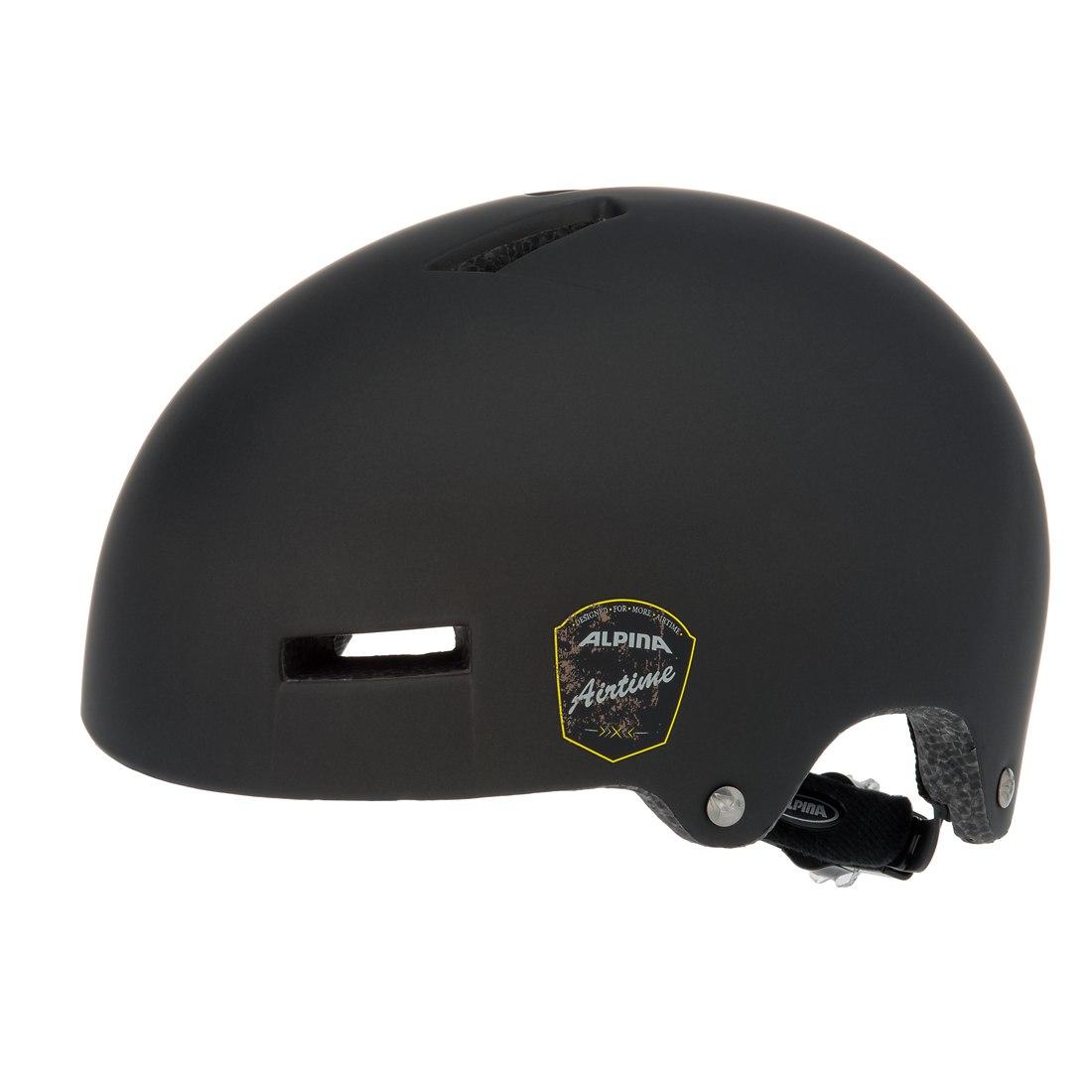 Летний шлем ALPINA PARK AIRTIME black matt