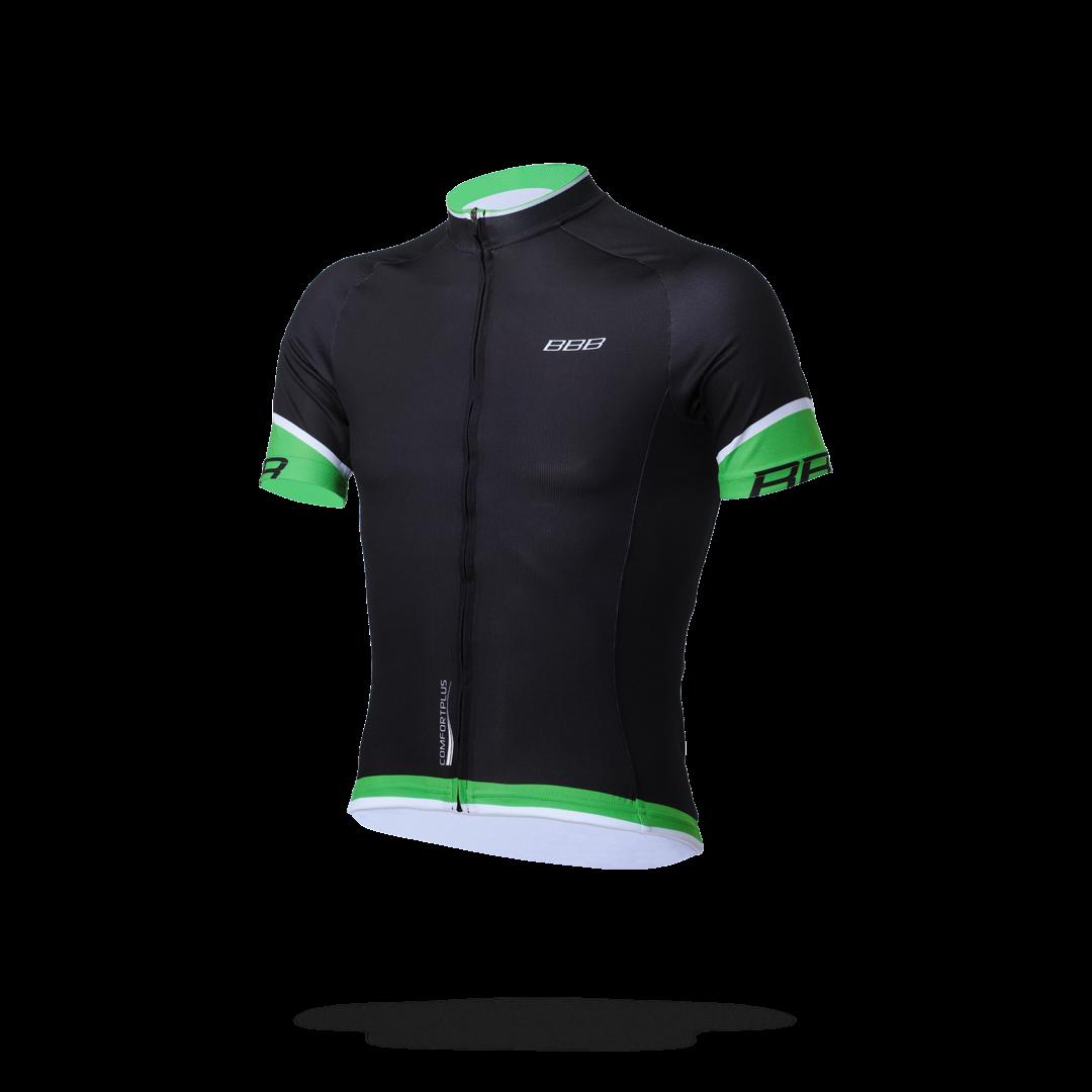 Джерси BBB 2018 ComfortFit черно-зеленый, Футболки - арт. 1031570179