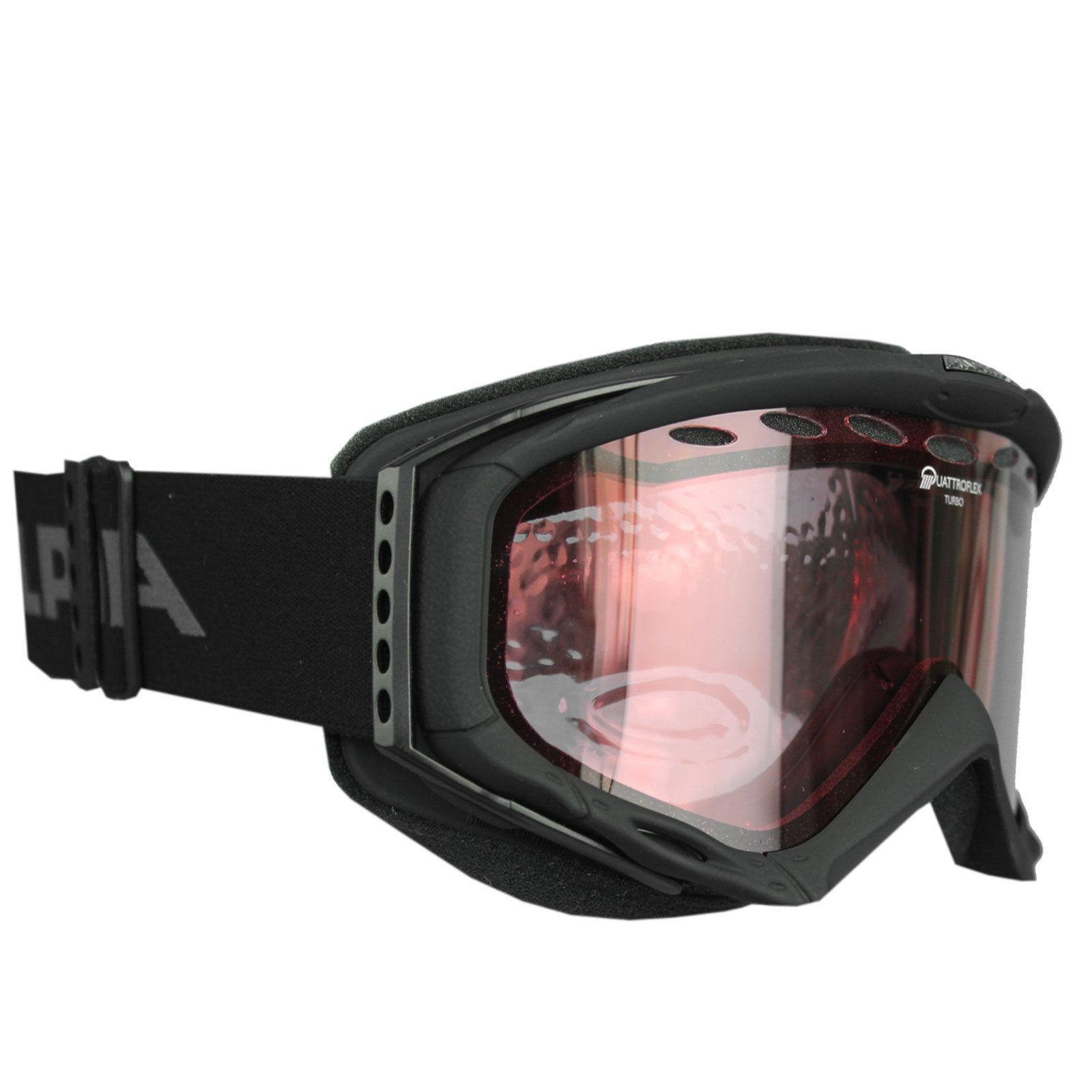 Очки горнолыжные Alpina Turbo Q black_Q S1, Горнолыжные очки и маски - арт. 750020418