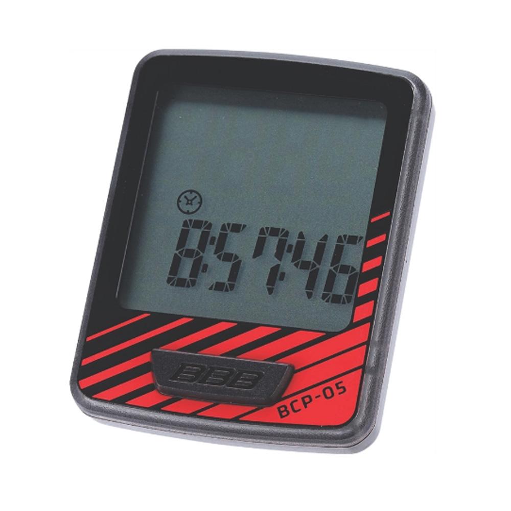 Компьютер BBB DashBoard 7 functions проводной черный/красный (BCP-05), Велокомпьютеры и комплектующие - арт. 819850363