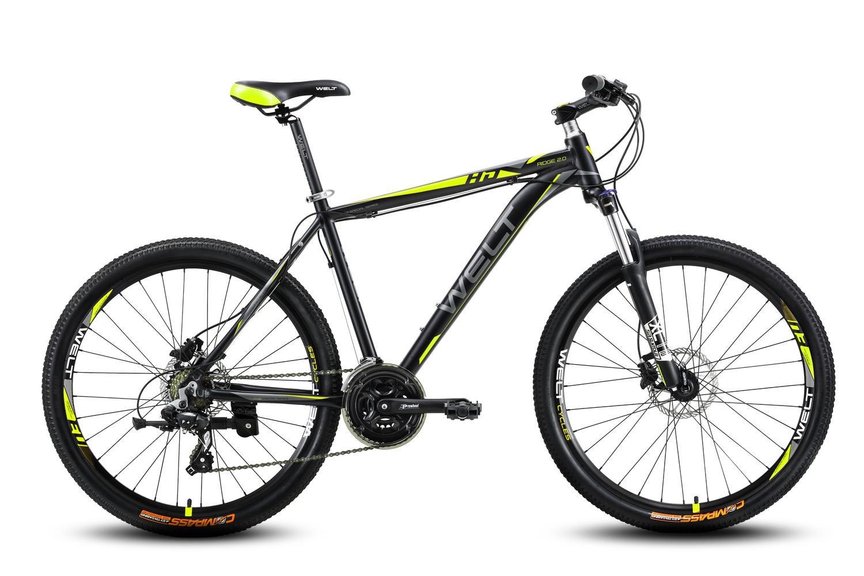 Велосипед Welt Ridge 2.0 HD 2016 matt black/yellow