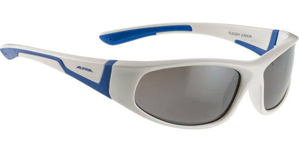 Очки солнцезащитные ALPINA FLEXXY JUNIOR white-blue, Очки солнцезащитные - арт. 802880413