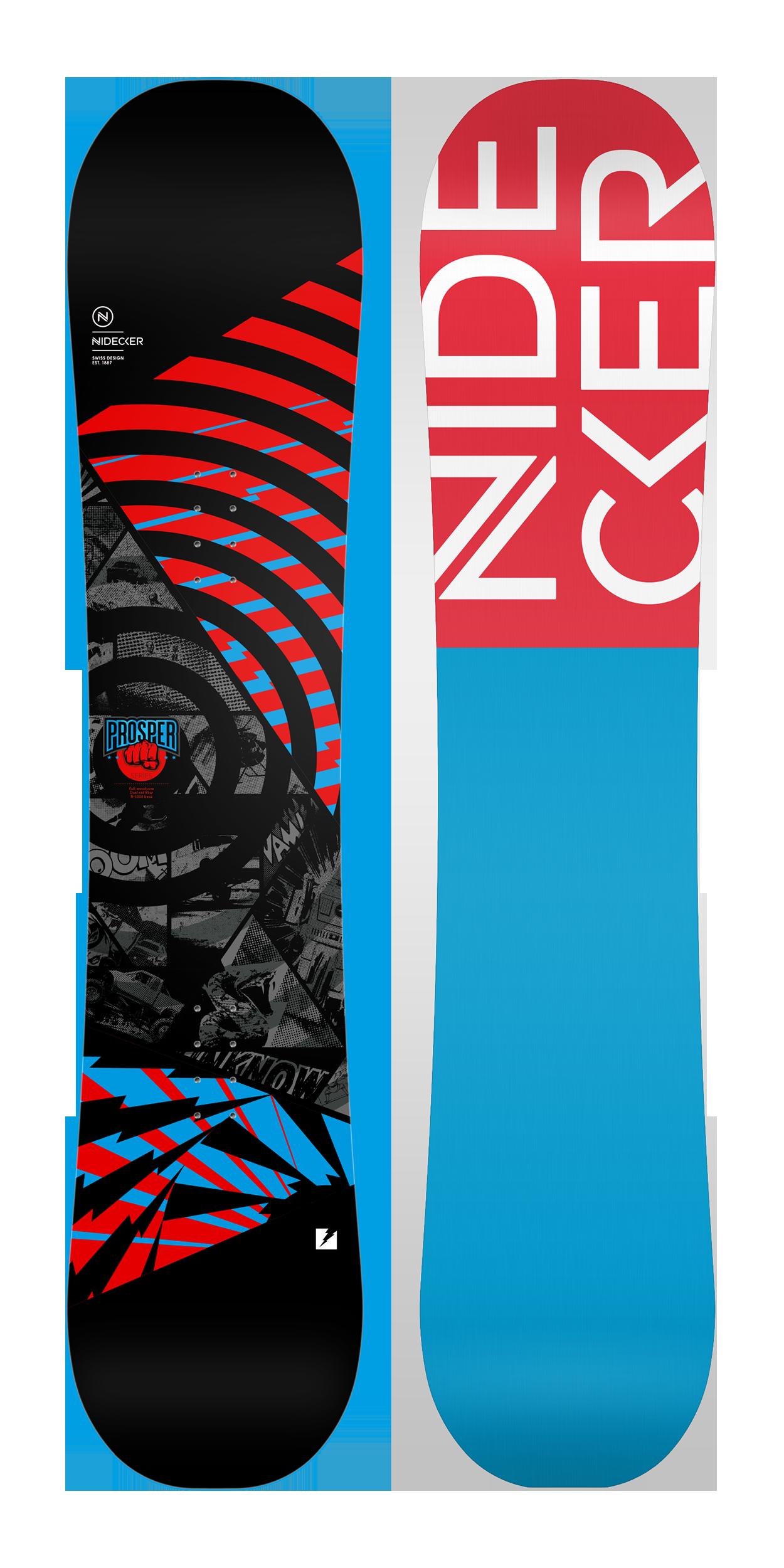 Сноуборд NIDECKER 2017-18 PROSPER, Сноуборды - арт. 1001400421