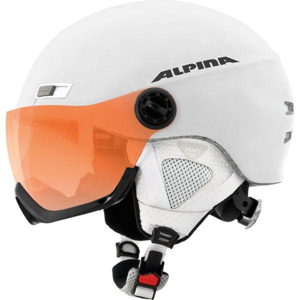 Зимний Шлем Alpina MENGA JV HM white matt, Горнолыжные и сноубордические шлемы - арт. 885160428