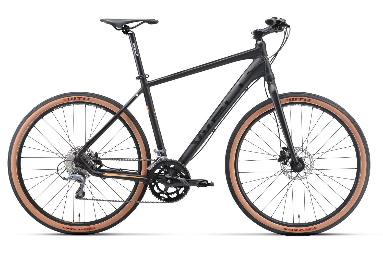 Велосипед Welt 2018 Horizon matt black, Велосипеды - арт. 1030940390