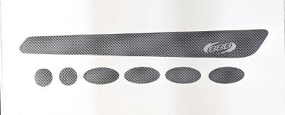 Набор защиты BBB BikeSkin прозрачный (BBP-50)