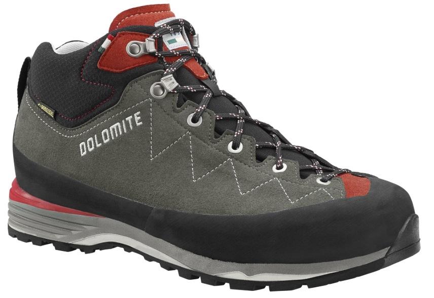 Ботинки для альпинизма Dolomite 2018 Torq Lite Gtx Anthracite/Scarlet Red