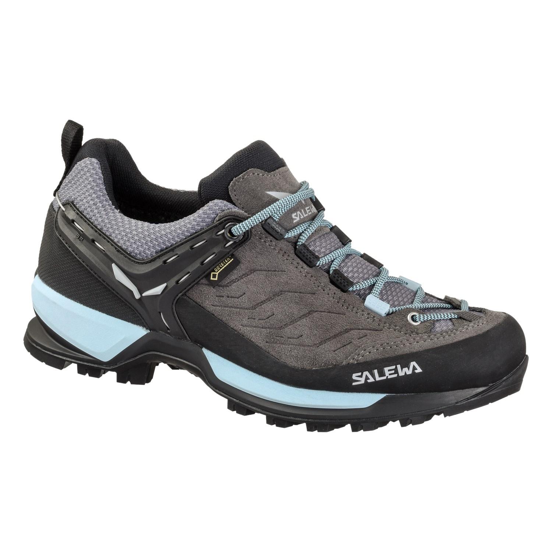 Ботинки для треккинга (высокие) Salewa 2018 WS MTN TRAINER GTX Charcoal/Blue Fog, Треккинговая обувь - арт. 1028020252