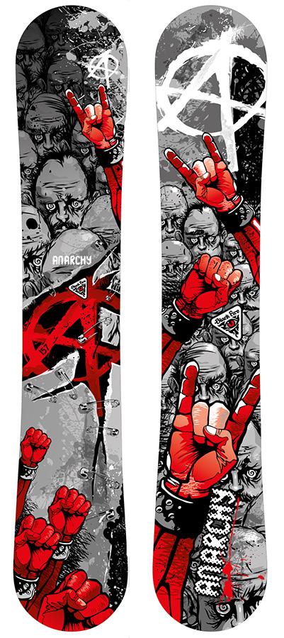 Сноуборд Black Fire 2016-17 Anarchy