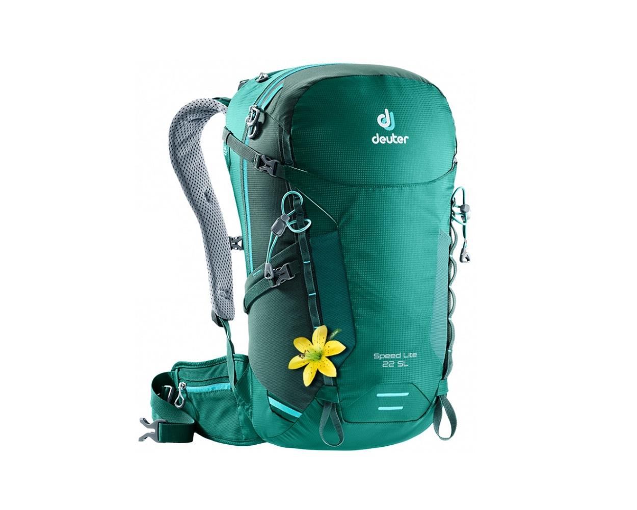 Рюкзак Deuter 2018 Speed Lite 22 SL alpinegreen-forest, Женские рюкзаки - арт. 1035950288