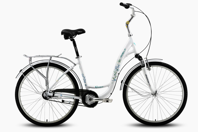 Велосипед Welt Grace 2016 white