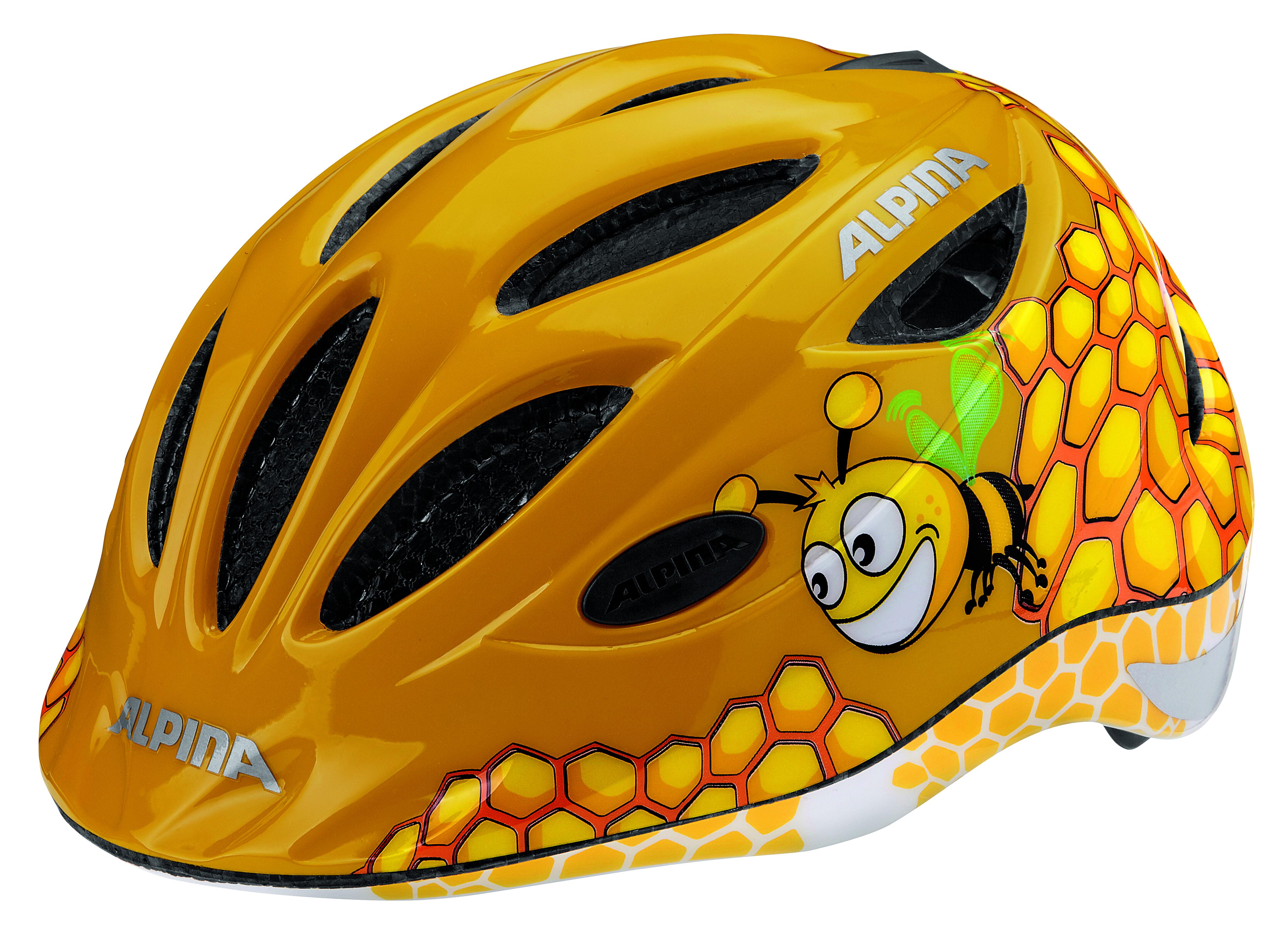 Велошлем Alpina 2018 Gamma 2.0 Flash honey bee, Велошлемы - арт. 1017130356