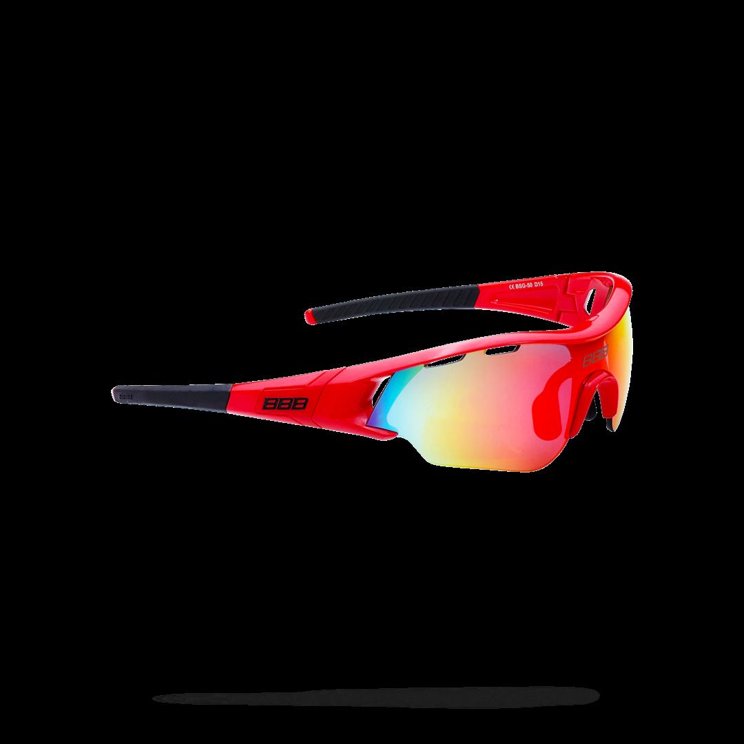 Очки солнцезащитные BBB 2018 Summit PC Smoke MLC red lens красный, черный, Очки - арт. 1031190161