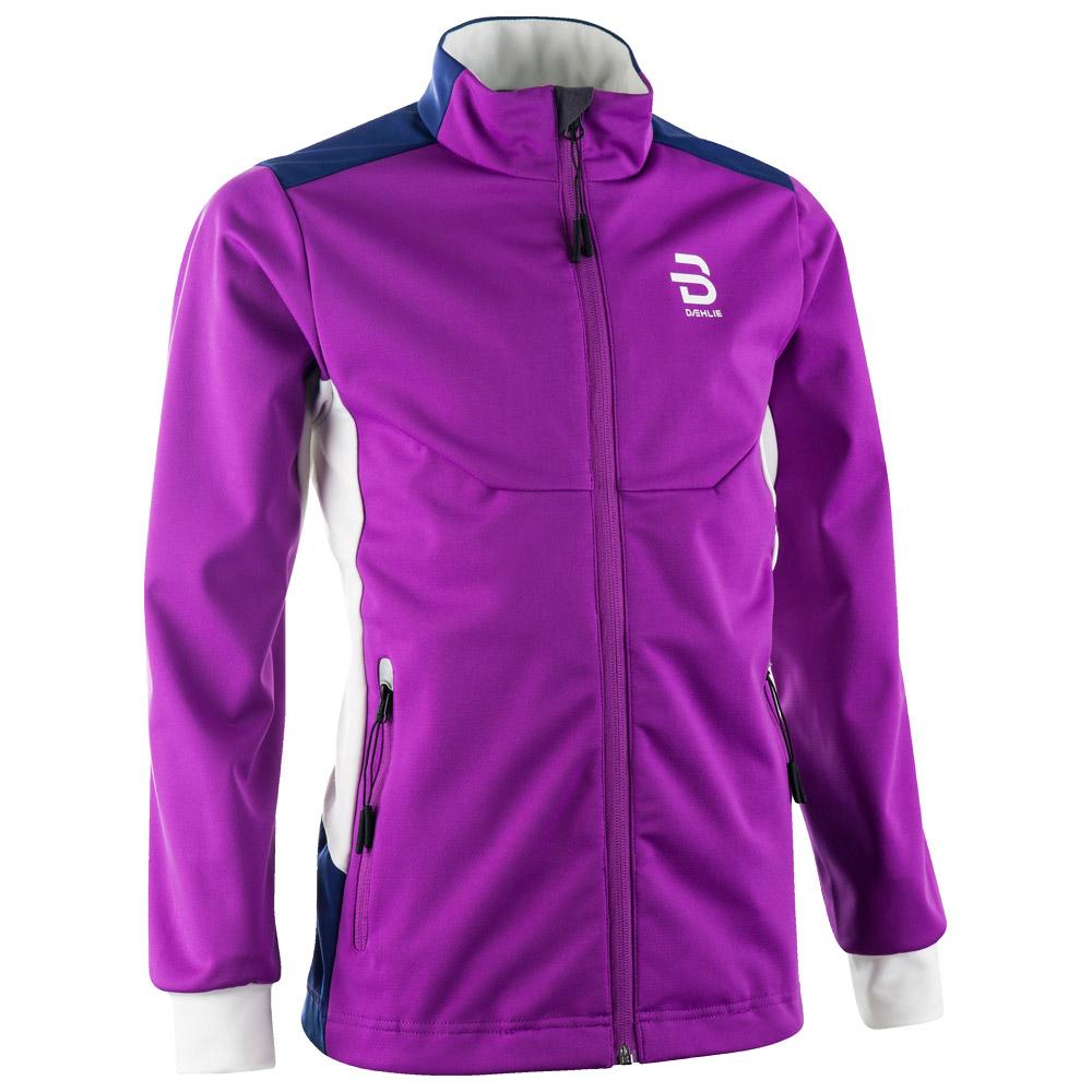 Куртка беговая Bjorn Daehlie 2017-18 Jacket Trysil Jr Bright Violet, Куртки - арт. 993620156