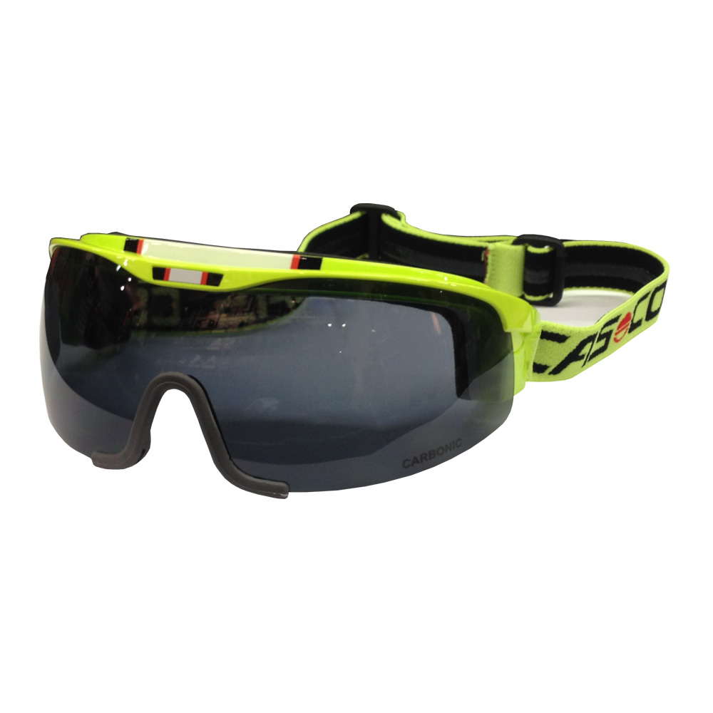 Визор Casco 2015-16 SMU Spirit Neon Yellow Smoke lens