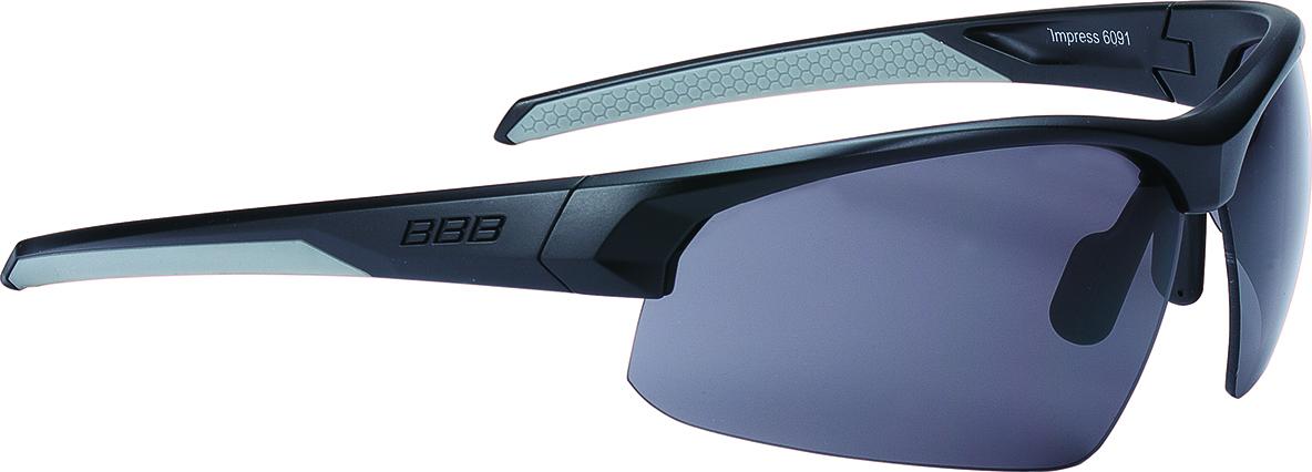 Очки солнцезащитные BBB 2018 Impress PC smoke lens черный, Очки солнцезащитные - арт. 1044590413