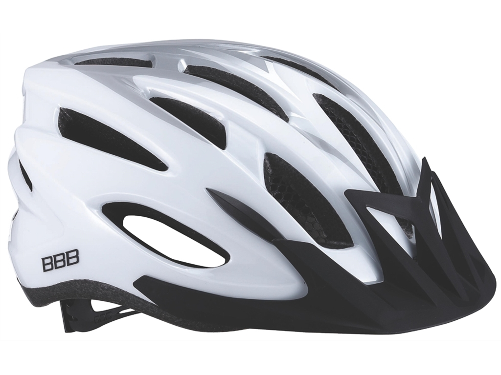 Летний шлем BBB 2015 helmet Condor white silver (BHE-35)