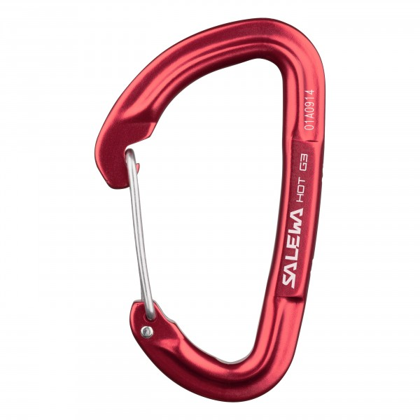 Карабин Salewa Hardware HOT G3 WIRE CARABINER RED