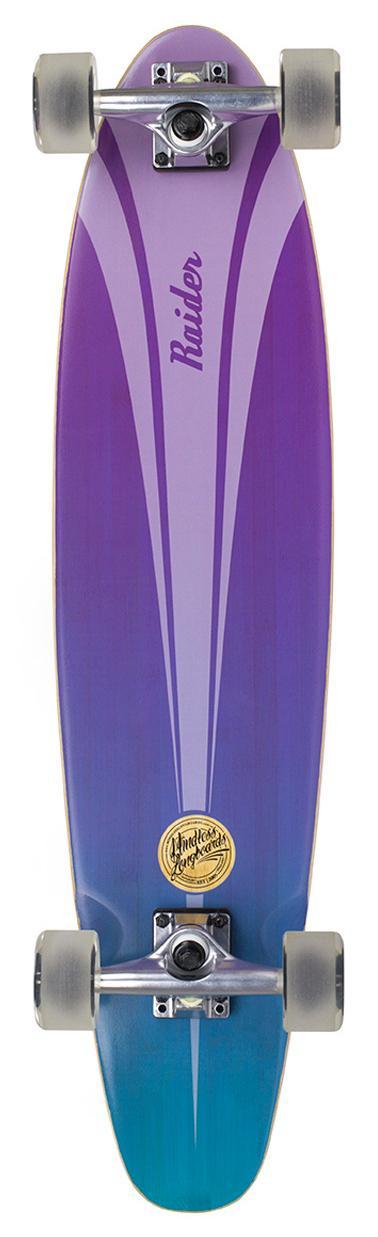 Лонгборд в сборе Mindless 2018 Raider IV 34 x 8 Blue/Purple, Скейтборды и лонгборды - арт. 1023510431