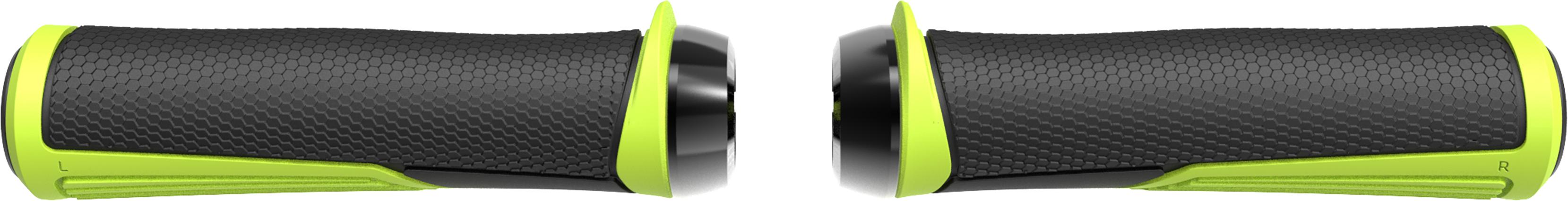 Грипсы BBB Cobra 142mm неон желтый/черный, Рулевая группа - арт. 1022140362