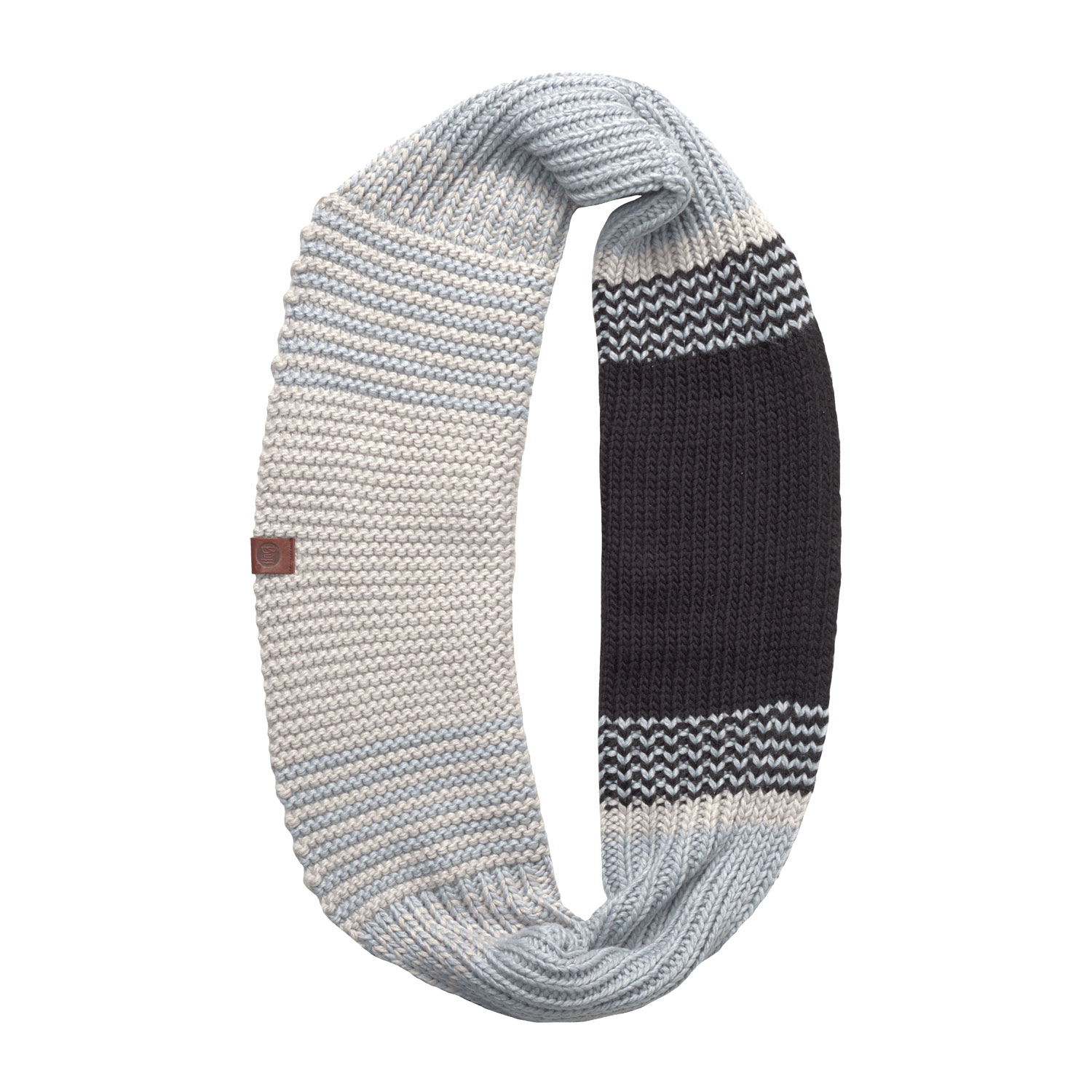 Шарф BUFF KNITTED INFINITY BORAE GREY (US:one size)