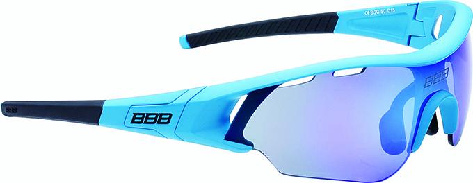 Очки солнцезащитные BBB 2018 Summit PC Smoke MLC blue lens синий, Очки - арт. 1031220161