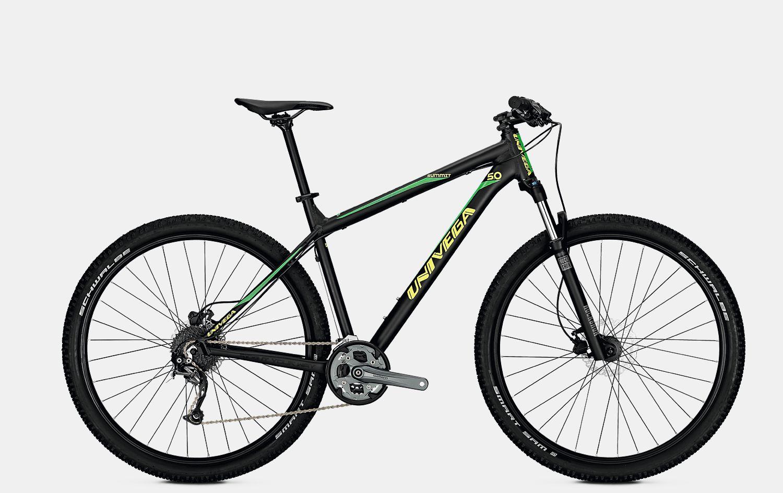 Велосипед UNIVEGA SUMMIT 5.0 2018 classic green matt, Велосипеды - арт. 1009920390