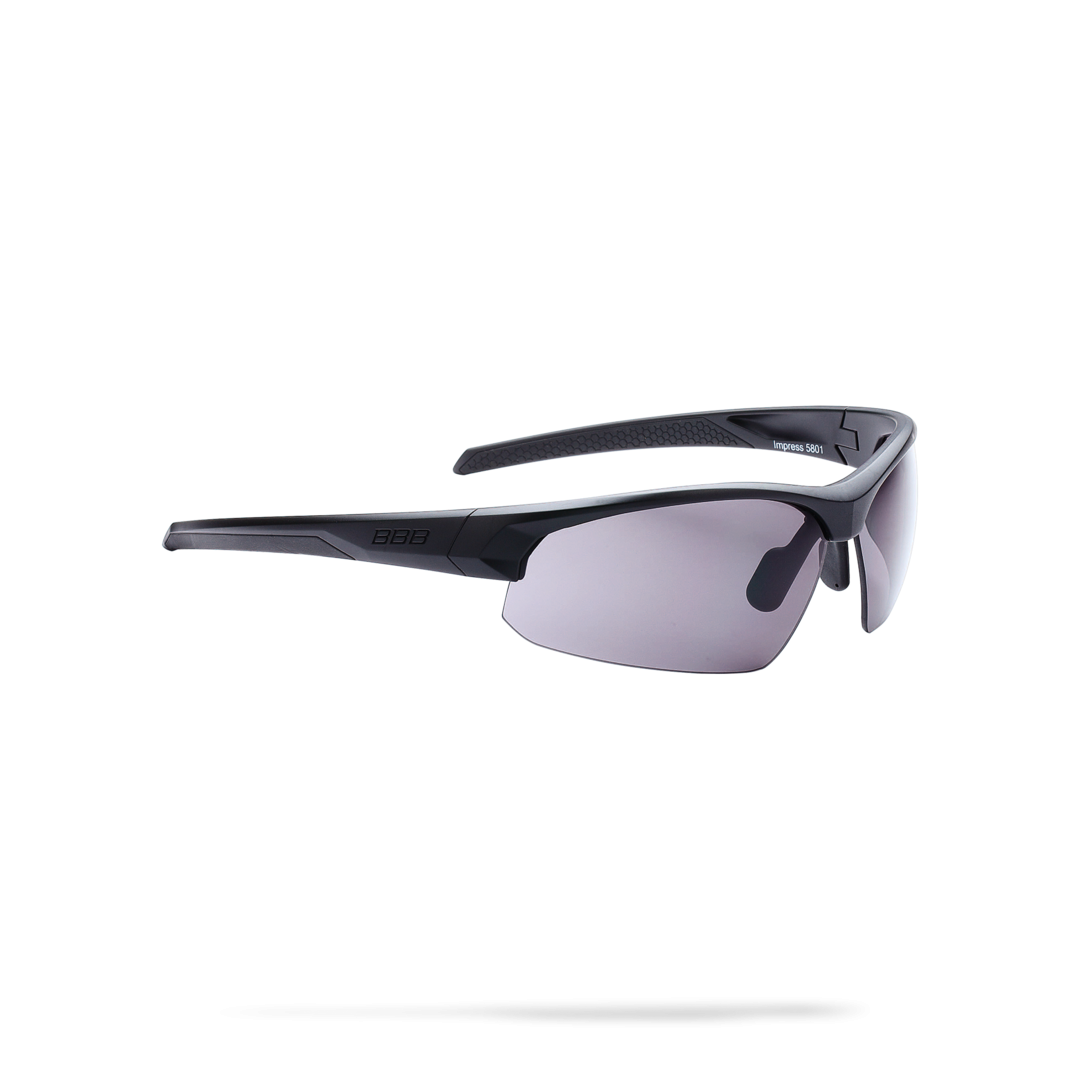 Очки солнцезащитные BBB 2018 Impress PC smoke lenses черный матовый, Очки солнцезащитные - арт. 1022240413