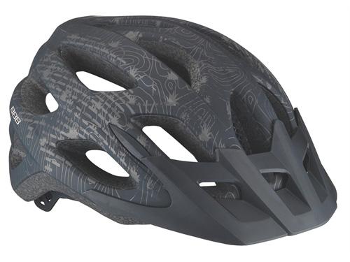 Летний шлем BBB Varallo solid matt black (BHE-67)