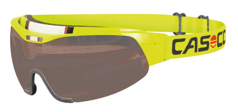 Визор Casco 2015-16 SMU Spirit Neon Yellow Smoke lens