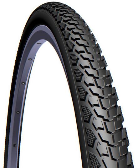 Велопокрышка RUBENA V84 GRIPPER 700 x 40C (42-622) CL черный