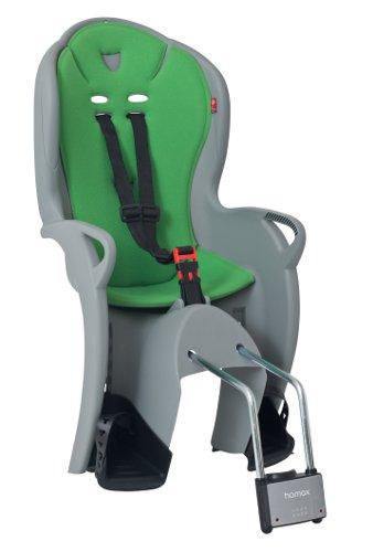 Детское кресло HAMAX KISS серый/зеленый, Велокресла - арт. 577780364