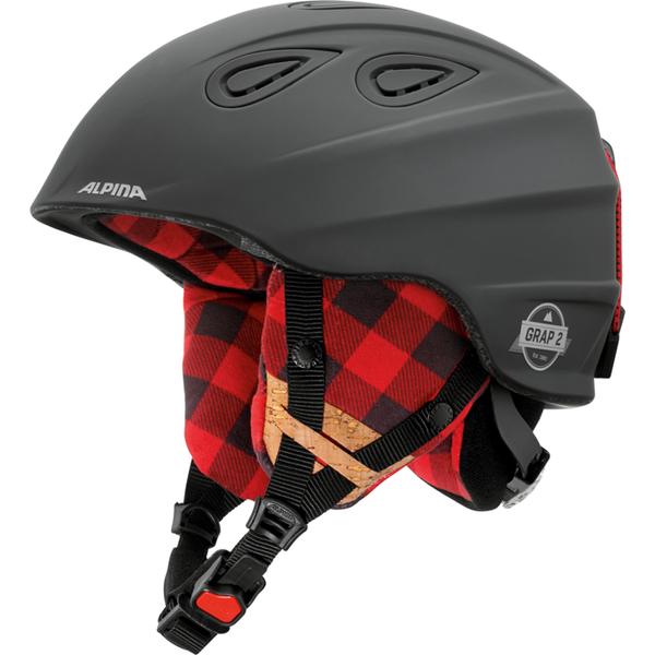 Зимний Шлем Alpina GRAP 2.0 LE black-lumberjack matt, Горнолыжные и сноубордические шлемы - арт. 926010428