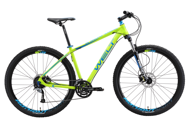 Велосипед Welt 2018 Rockfall 2.0 acid green/dark blue, Велосипеды - арт. 1015560390
