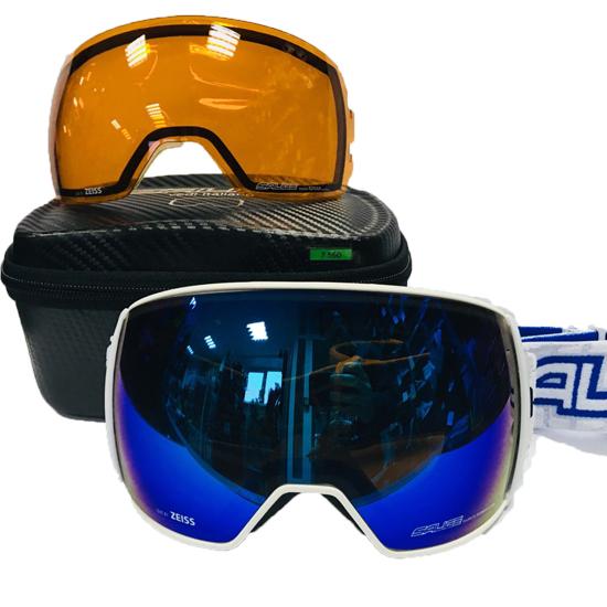 Очки горнолыжные Salice 605DARWF w. Coffre & Spare Lens BLUE/RW BLUE + SONAR, Горнолыжные очки и маски - арт. 1034060418