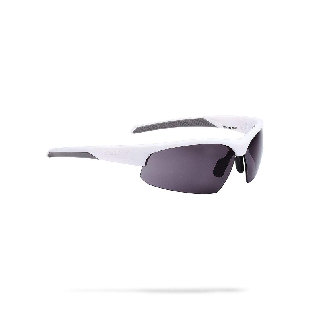 Очки солнцезащитные BBB 2018 Impress PC smoke lenses белый