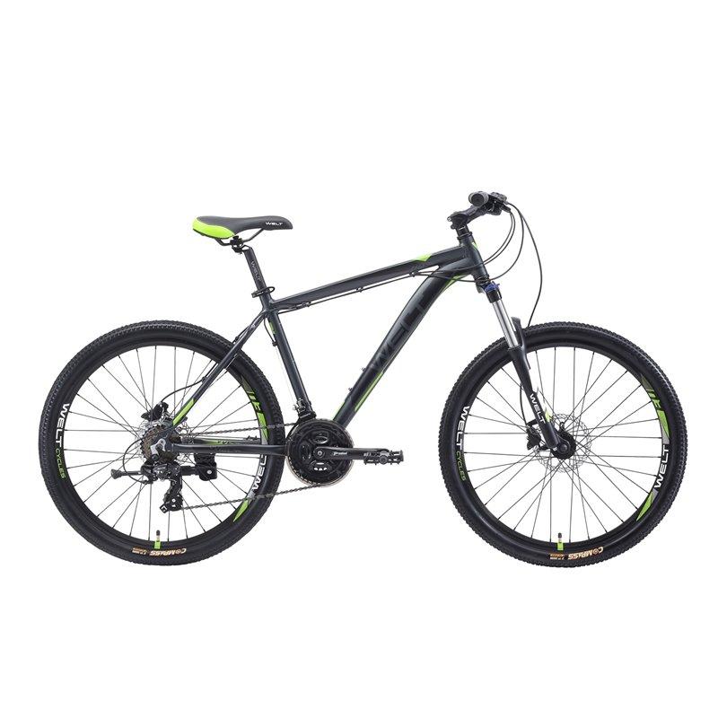 Велосипед Welt 2018 Ridge 1.0 HD matt grey/green (US:M), Велосипеды - арт. 997500390
