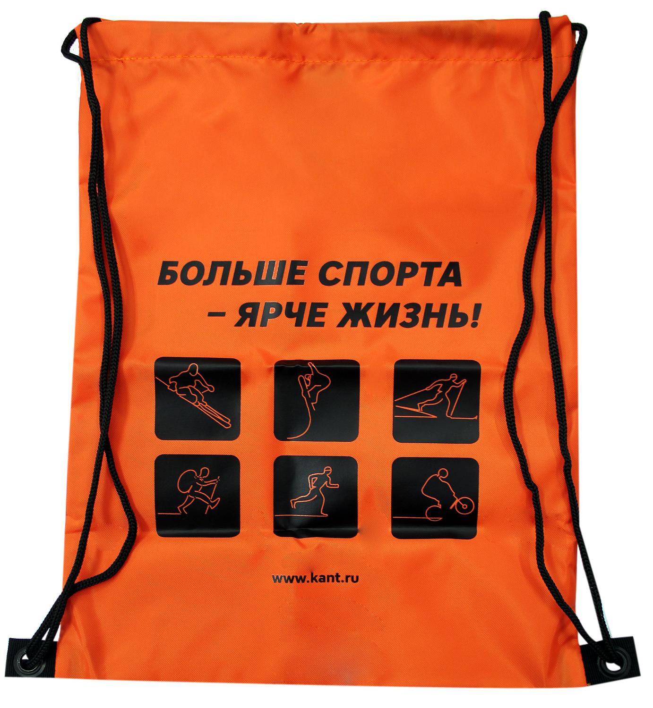 Купить Чехол для обуви КАНТ PROMO BAG оранжевый/чёрный (б/р:ONE SIZE), Форма одежды