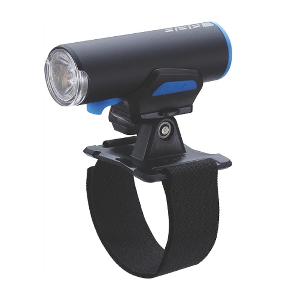 Фонарь передний BBB ScoutCombo 200 lumen LED w/helmetmount черный/синий (BLS-116), Фонари - арт. 819980171