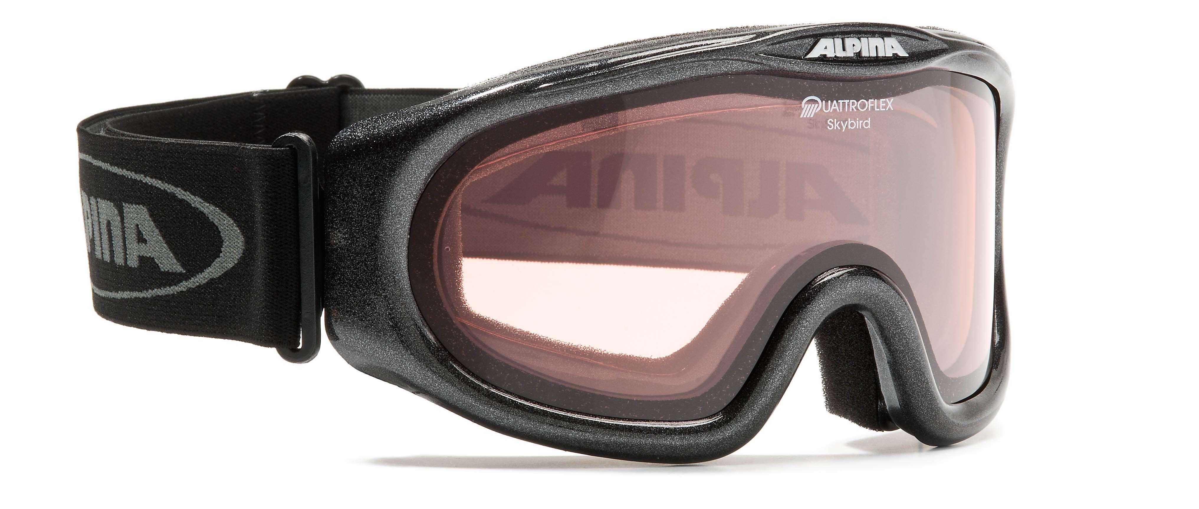 Очки горнолыжные Alpina Skybird Q black_Q S1, Горнолыжные очки и маски - арт. 708300418