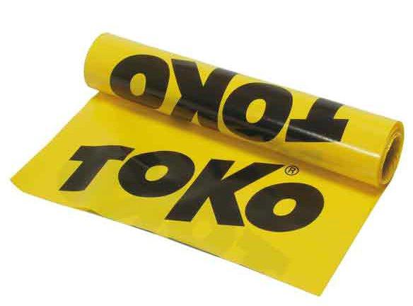 Непромокаемая, ткань TOKO Ground Sheet (желтый полиэтилен 25м х 1,2 м) - артикул: 604990435