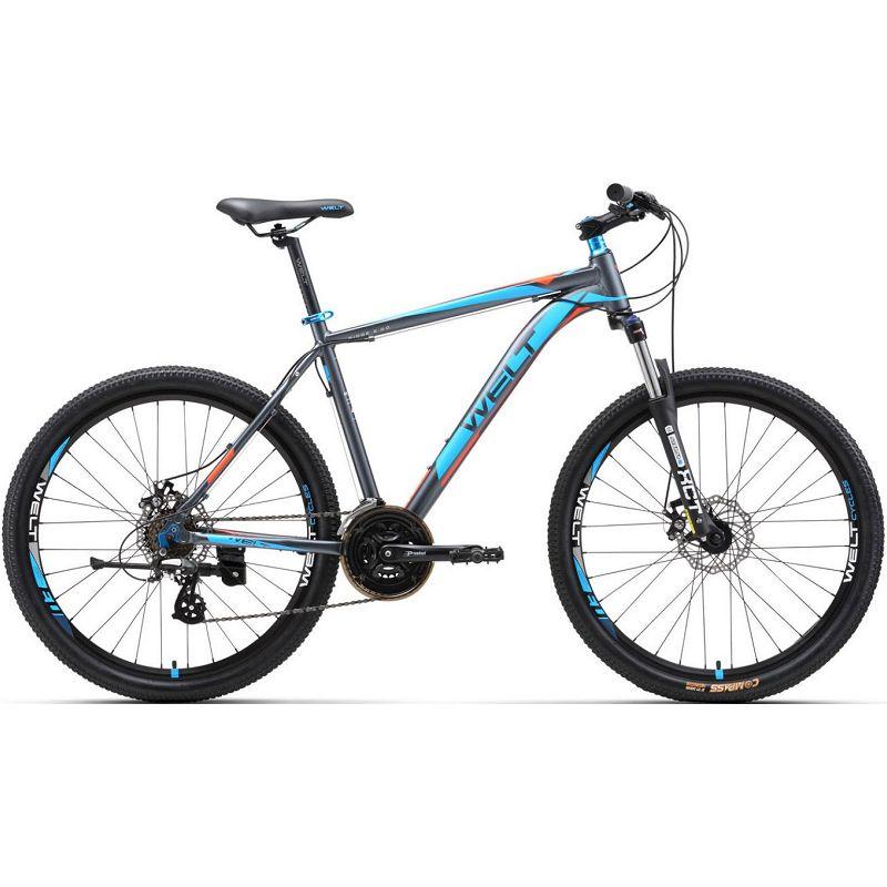 Велосипед Welt 2018 Ridge 2.0 D 29er matt grey/orange/blue (US:M), Велосипеды - арт. 997520390