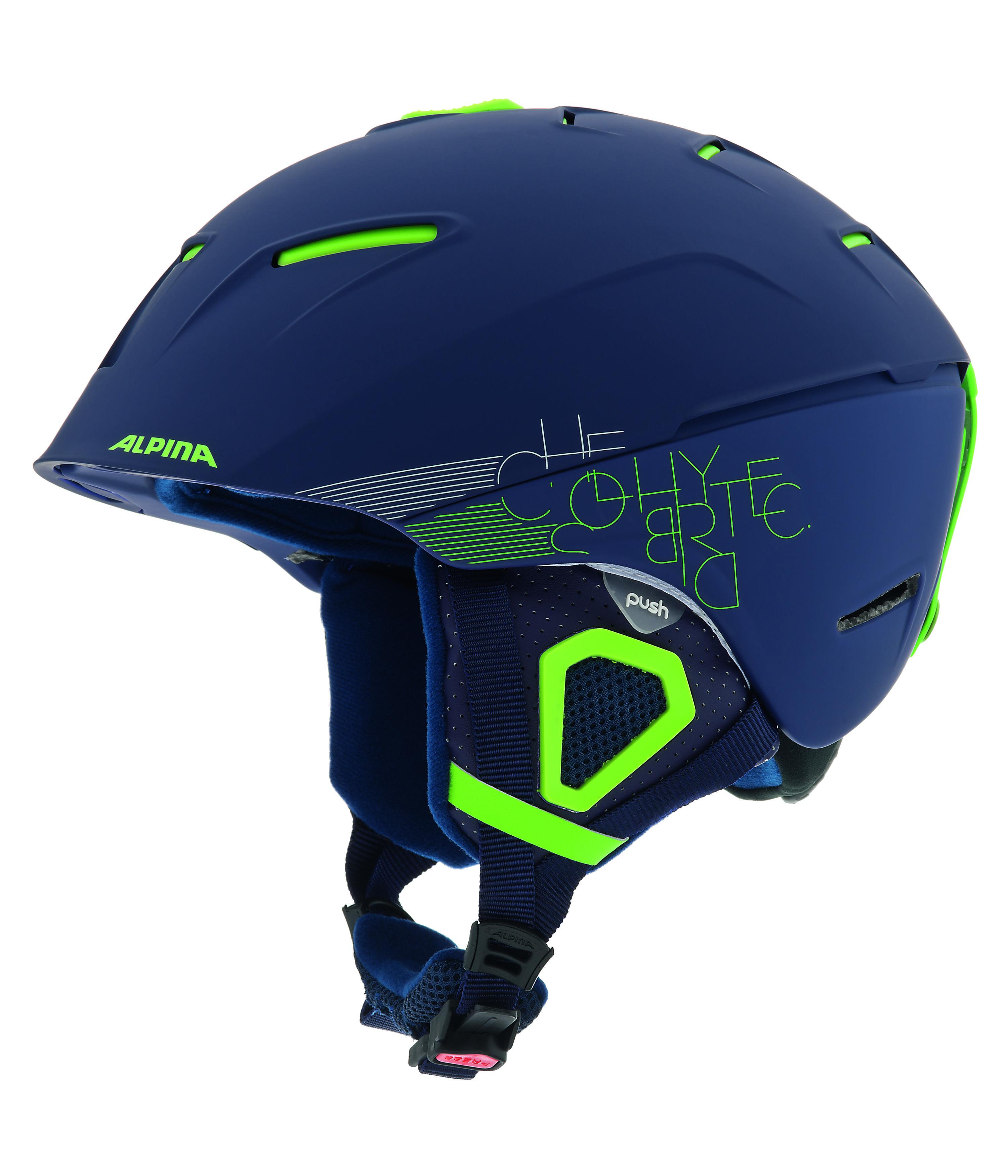 Зимний Шлем Alpina FREERIDE CHEOS navy matt (см:52-56) - артикул: 970850428