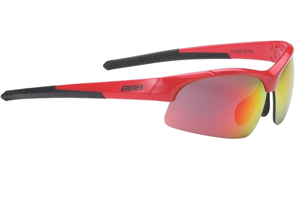 Очки солнцезащитные BBB Impress Small PC smoke red lenses блестящий розовый (BSG-48)
