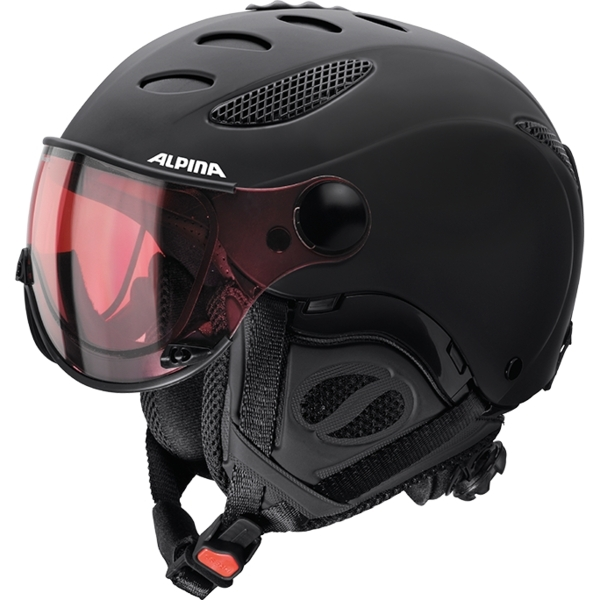 Зимний Шлем Alpina JUMP JV QVMM black matt (см:60-62) - артикул: 975610428