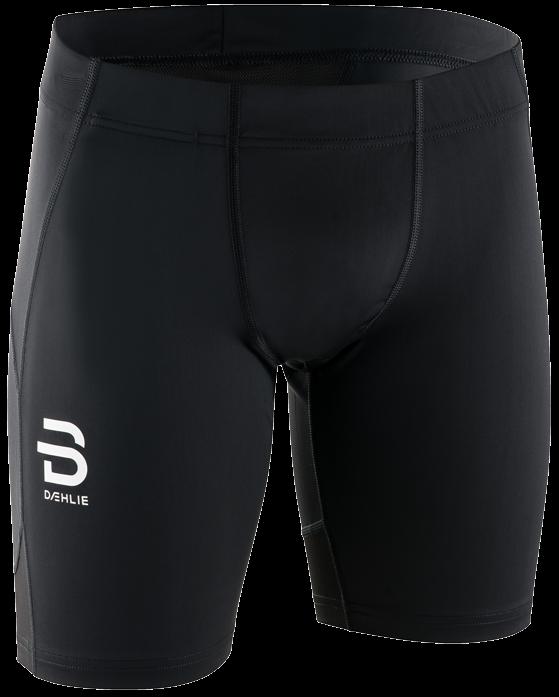 Шорты беговые Bjorn Daehlie 2018 Shorts Focus Mid Black, Шорты - арт. 1029340173