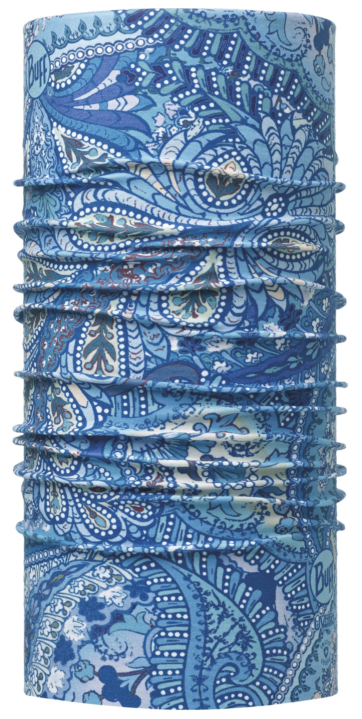 Бандана BUFF HIGH UV PROTECTION BUFFWITH INSECT SHIELD INSECT SHIELD BUFF TEHANNY BLUE, Средства от насекомых - арт. 1004100301