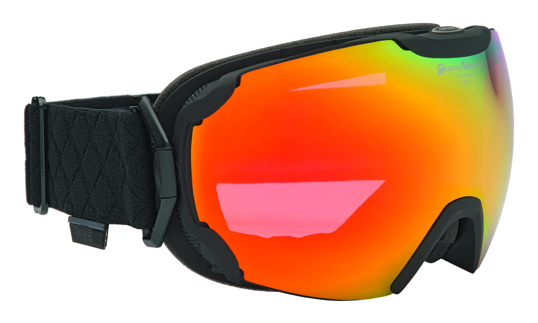 Очки горнолыжные Alpina PHEOS QVMM black/white (black nurbs), Горнолыжные очки и маски - арт. 885030418